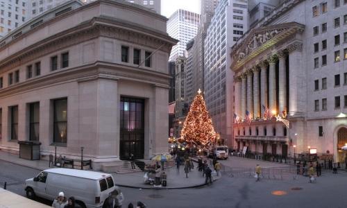 Wall_Street_winter before Christmas